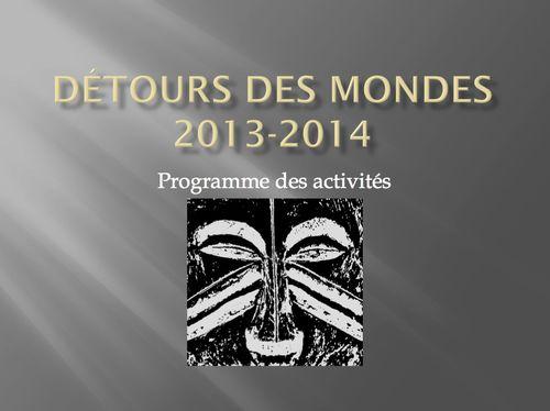 Detoursdesmondes2013_2014