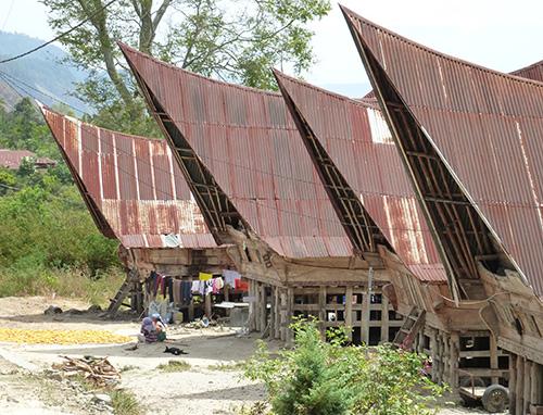 Batak-house