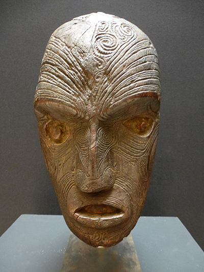 Maori-head
