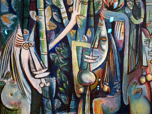 La-jungle-detail-wifredo-lam