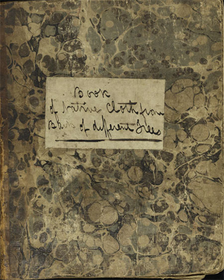 Barkcloth-book