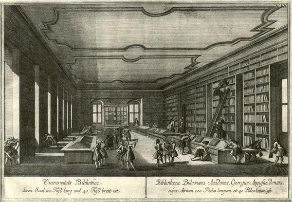Gottingen-bibliotheque18eme