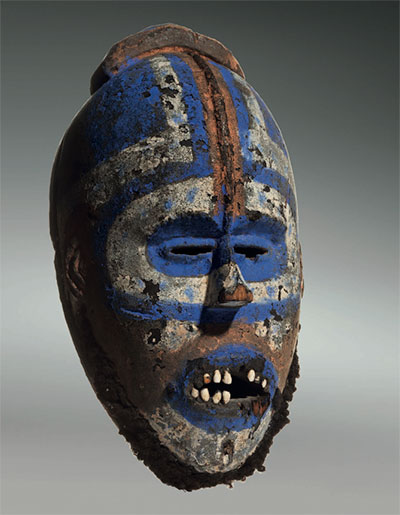 Grebo-mask