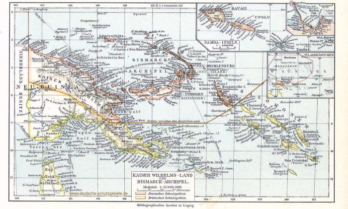 Kaiser-Wilhelms-Land_Bismarck-Archipel_Salomonen