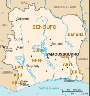 Région Sénoufo en Côte d'Ivoire