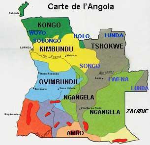 carte de langola - Image
